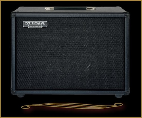 2016 Mesa Boogie 1x12 WideBody Open Back Compact Cabinet