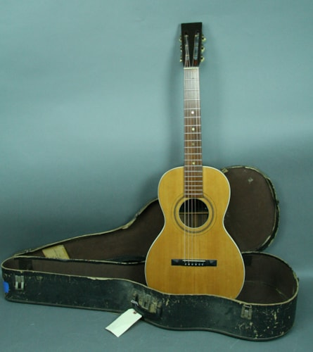 """The Cleveland Guitar"" Parlor Acoustic Guitar C. Bruno Brazilian Rosewood"
