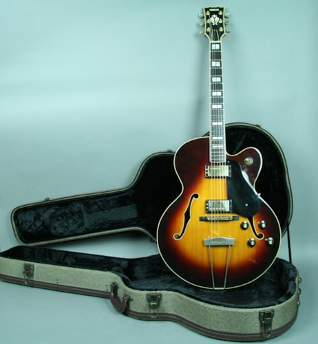 Yamaha AE1200T Sunburst RARE Archtop Guitar w/OHSC Made In Japan