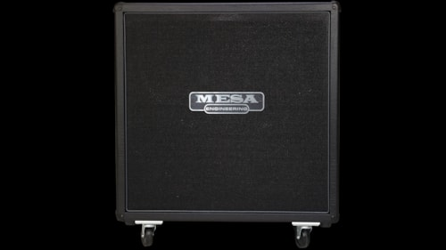 2016 Mesa Boogie 4X12 Recto® Traditional Straight Cabinet