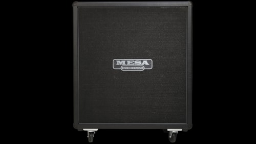 2016 Mesa Boogie 4x12 Recto® Standard Oversized Straight Cabinet