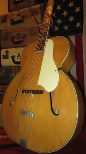 "Kay Model 956 Jumbo 17"" Archtop Acoustic"