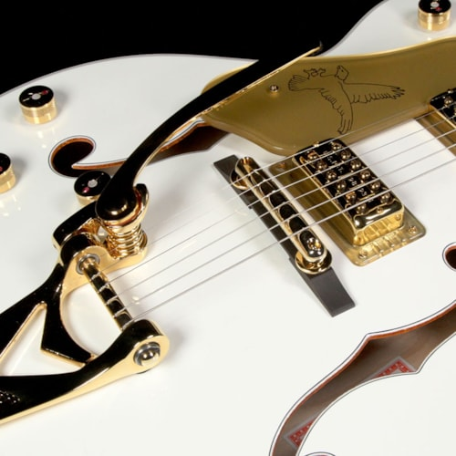 Gretsch G6136T Players Edition White Falcon Left-Handed Electric Guitar