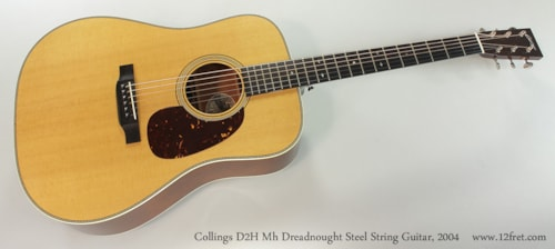 2004 Collings D2H Mh