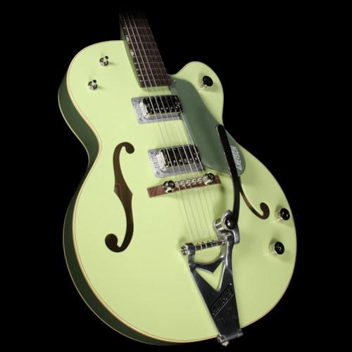 Gretsch® G6118T-60GE Vintage Select Edition 1960 Anniversary with Bigsby Electric Guitar 2-Tone Smoke Green