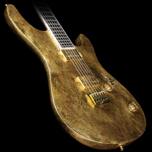 Mayones 2016 NAMM Display Regius 6 Pro Electric Guitar Aged Gold