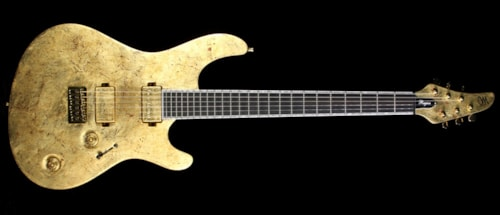 2016 Mayones 2016 NAMM Display Regius 6 Pro Electric Guitar Aged Gold
