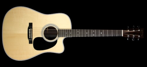 Martin Used Martin DC-28E Dreadnought Acoustic-Electric Guitar Natural