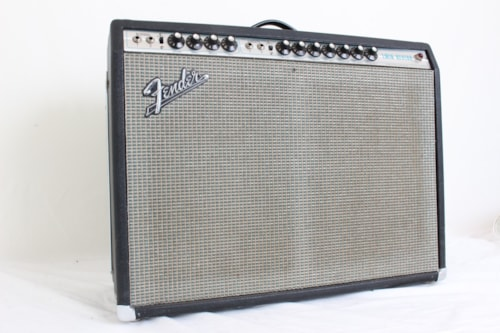1971 Fender® Twin Reverb® Silverface 2x12 Tube Combo w/footswitch