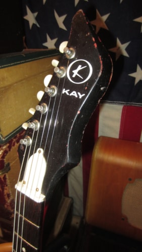 ~1965 Kay Vanguard Double Pickup