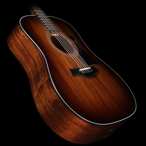 Taylor 320e Mahogany Top Dreadnought Acoustic/Electric Guitar Shaded Edgeburst