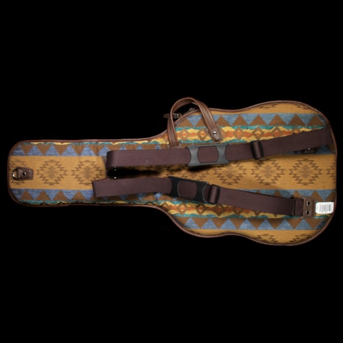 Levy's CMT18-BAN Tapestry and Leather Electric Guitar Gigbag