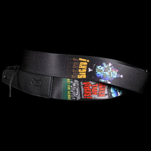 Levy's MDL8-017 Guitar Strap Sublimation Print