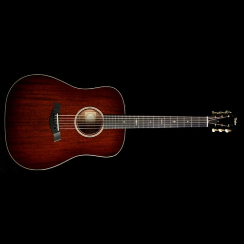 Taylor 520e All-Mahogany Dreadnought Acoustic-Electric Guitar Tobacco Edgeburst