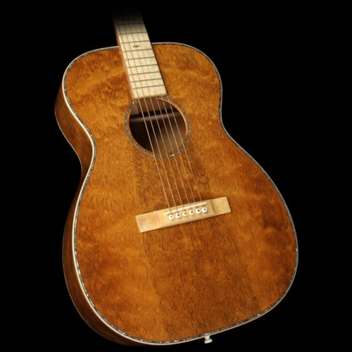 Martin Used Martin Custom Shop 2016 NAMM Display 00-14 Quilt Mahogany Acoustic Guitar Natural
