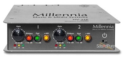 Millennia Media Millennia HV-32P Portable Dual Channel Microphone Preamp