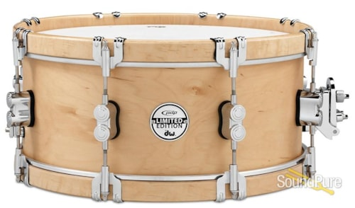 DW Drums PDSX0614CLWH