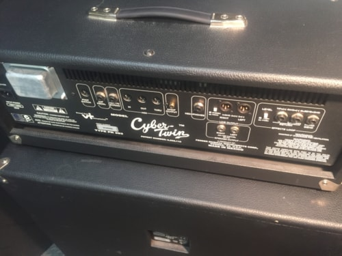 Fender® Cyber Twin Head with Showman® 412S Stereo Cabinet