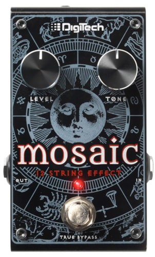 2016 DIGITECH MOSAIC POLYPHONIC 12-STRING EFFECT PEDAL