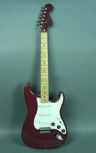 1974 Fender® Vintage Stratocaster® Burgundy Mist Plum Finish USA