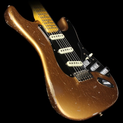 Fender® Custom Shop 2016 NAMM Display Builder's Select Todd Krause '50s Control Plate Stratocaster® Relic® Electric Guitar Aged Copper