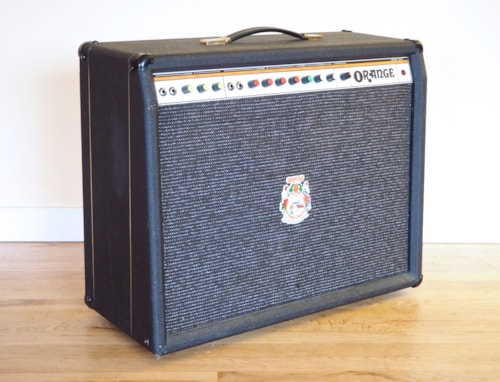 1978 Orange Hustler 125 Reverb Twin Vintage Tube Amplifier UK Celestion