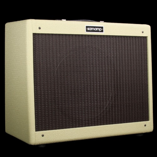 Samamp 23-Verb 1x12 Electric Guitar Combo Amplifier Blonde w/ Oxblood Grill