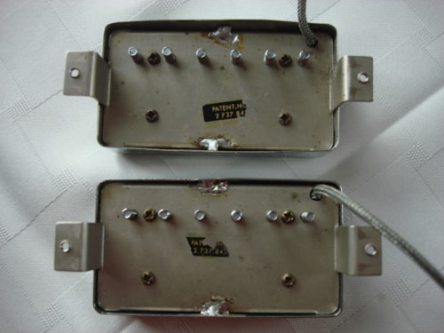 ~1964 Gibson Patent Number Humbuckers vintage