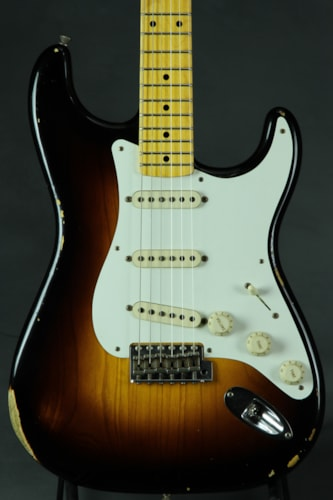 Fender® Custom Shop 1956 Relic® Stratocaster® - Faded Two Tone Sunburs