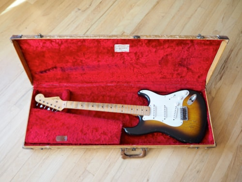 1956 Fender® Stratocaster® Vintage Electric Guitar Pre-CBS Collector Grade