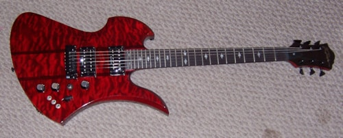 2015 B. C. Rich Mockingbird STQ