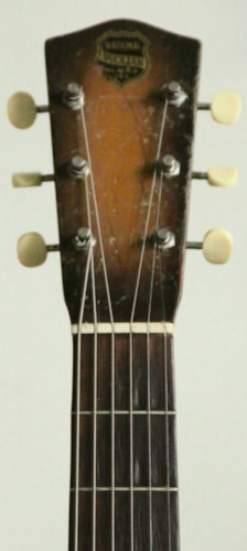 "1936 National ""piano finish"" brown Duolian"