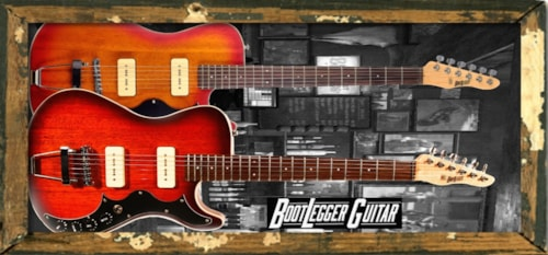 "BootLegger Guitar ""The Hounder"" Rockin Axe"
