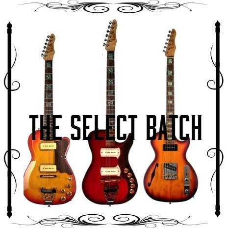BootLegger Guitar Select Batch Rye Rocker