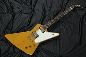 1996 Gibson Custom Shop Histric Collection 1959 Explorer Korina Reissue