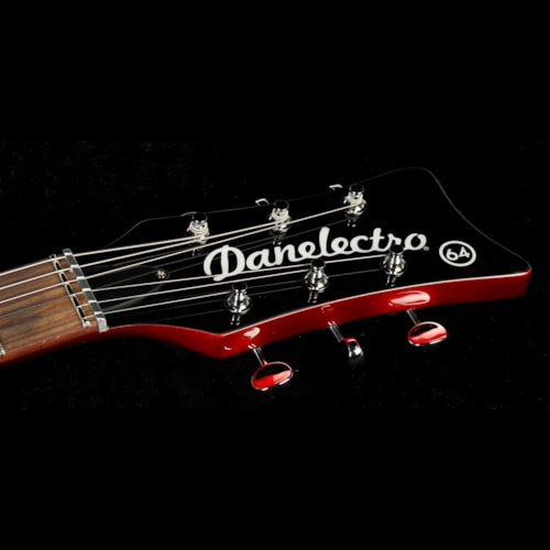 Danelectro '64 Electric Guitar Red Metallic