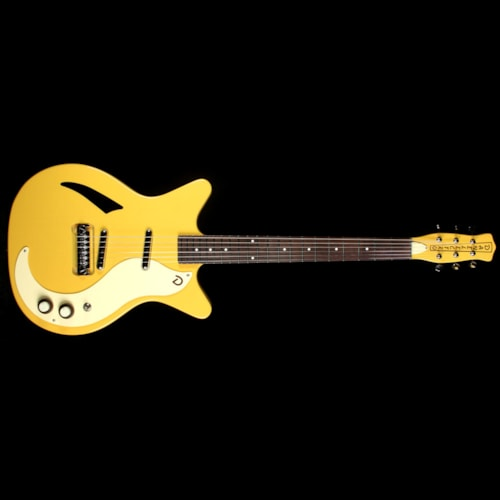 Danelectro '59 M Spruce Electric Guitar Buttercup