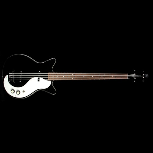 Danelectro '59 DC Long Scale Electric Bass Black