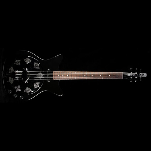 Danelectro 59 Resonator Electric Guitar Black