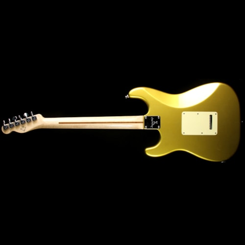 Fender® Custom Shop Used 2004 Fender® Custom Shop Masterbuilt Yuriy Shishkov Custom Classic Stratocaster® Electric Guitar Frost Gold with Matching Headstock