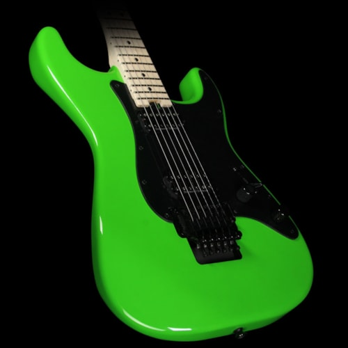 Charvel Pro Mod Series So Cal 2H FR Electric Guitar Slime Green