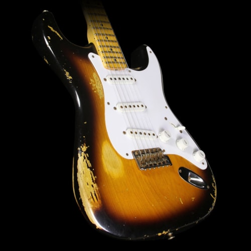 Fender® Custom Shop Used 2014 Fender® Custom Shop 60th Anniversary '54 Stratocaster® Electric Guitar 2-Tone Sunburst