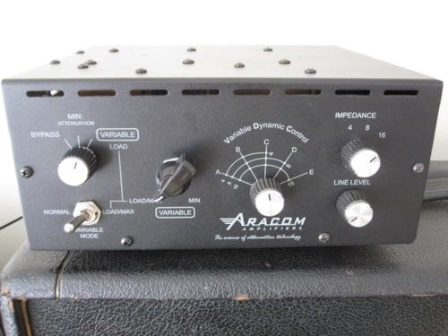 "ARACOM POWER ATTENUATOR DUAL ROX ""DRX"" FOR MARSHALL PLEXI"