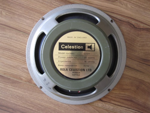 1973 CELESTION MARSHALL GREENBACK G12H30 PULSONIC 003 CONE