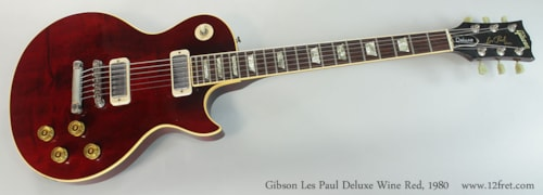 1980 Gibson LES PAUL DELUXE