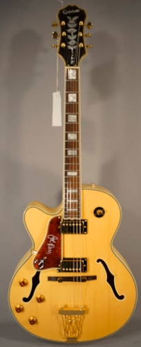 Epiphone Guitars Emperor II Electric Guitar With Case! (Lefty)