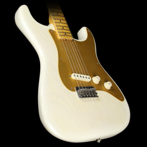 Fender® Custom Shop Used 2004 Fender® Custom Shop El Cabron '55 Stratocaster® Electric Guitar Transparent Blonde