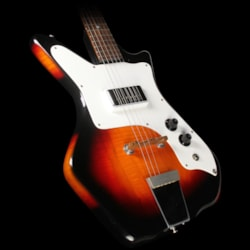 Airline Used 1960's Airline '59 Single Pickup Electric Guitar Sunburst