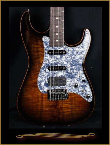 2016 Tom Anderson Drop Top Classic with Koa Top