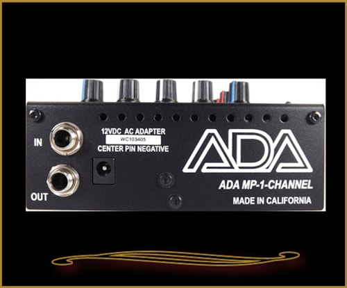 2015 ADA MP-1 Channel Preamp Pedal